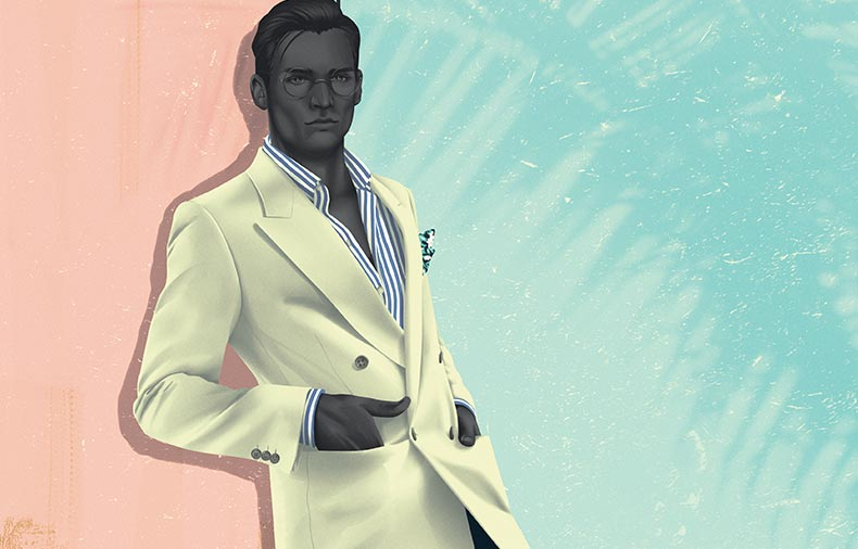 When to stop - illustrator Jack Hughes on less is more