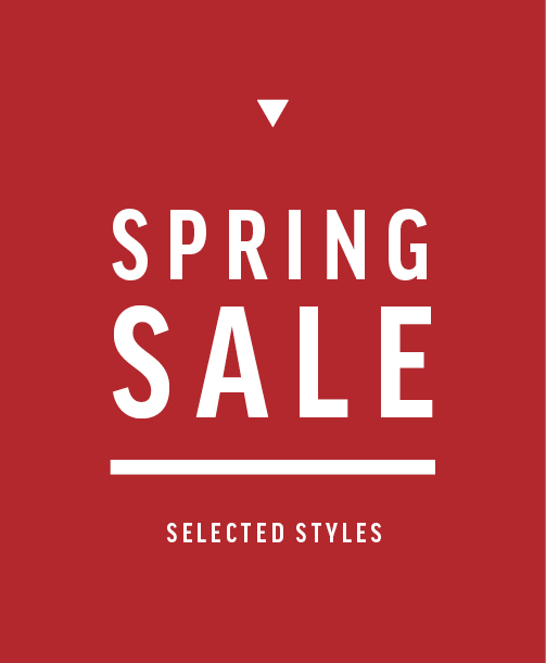 Spring Sale - Selected Styles
